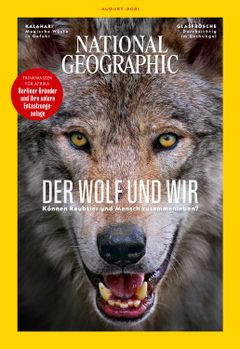 NATIONAL GEOGRAPHIC Cover 08/2021