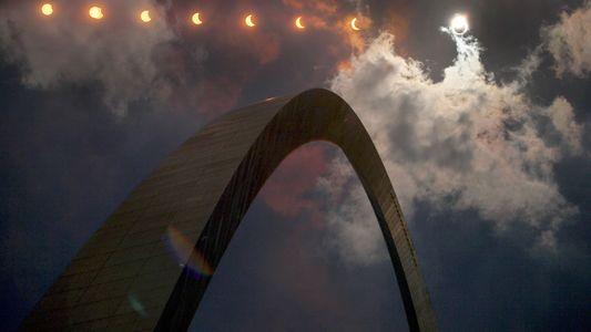 Galerie: Faszinierende Fotos der Sonnenfinsternis