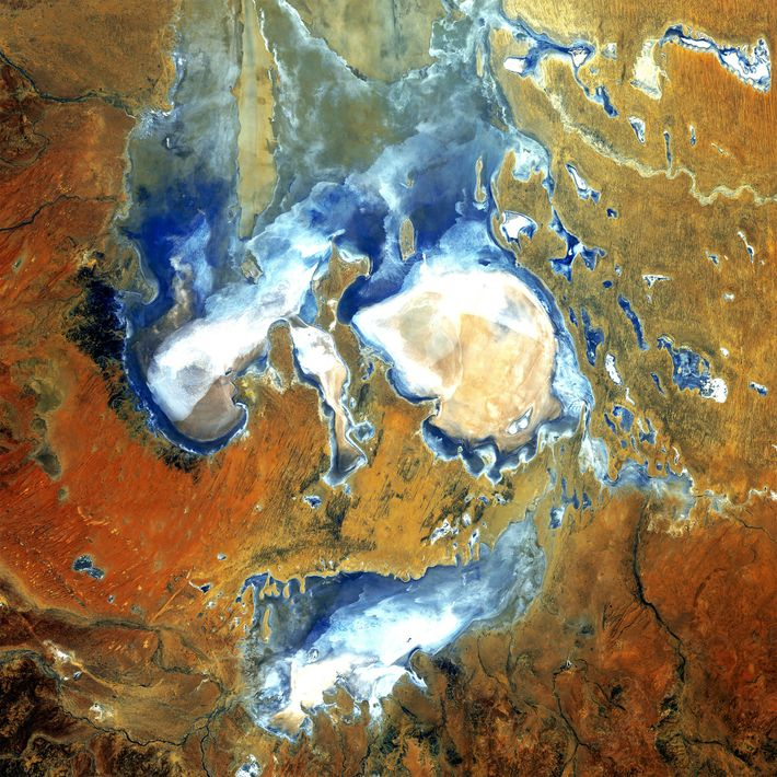"""Fifth Place: """"Lake Eyre"""""""