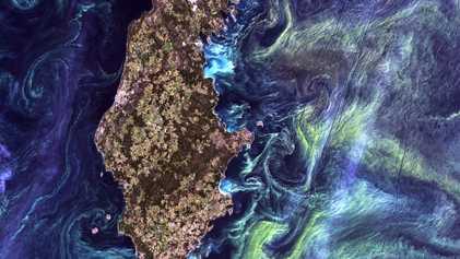 Die Erde als Kunstwerk