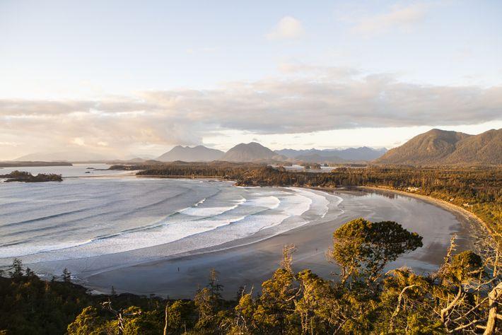 Die Insel Vancouver Island ist auf allen Seiten vom Pazifik umgeben und berühmt für ihre wilden, ...