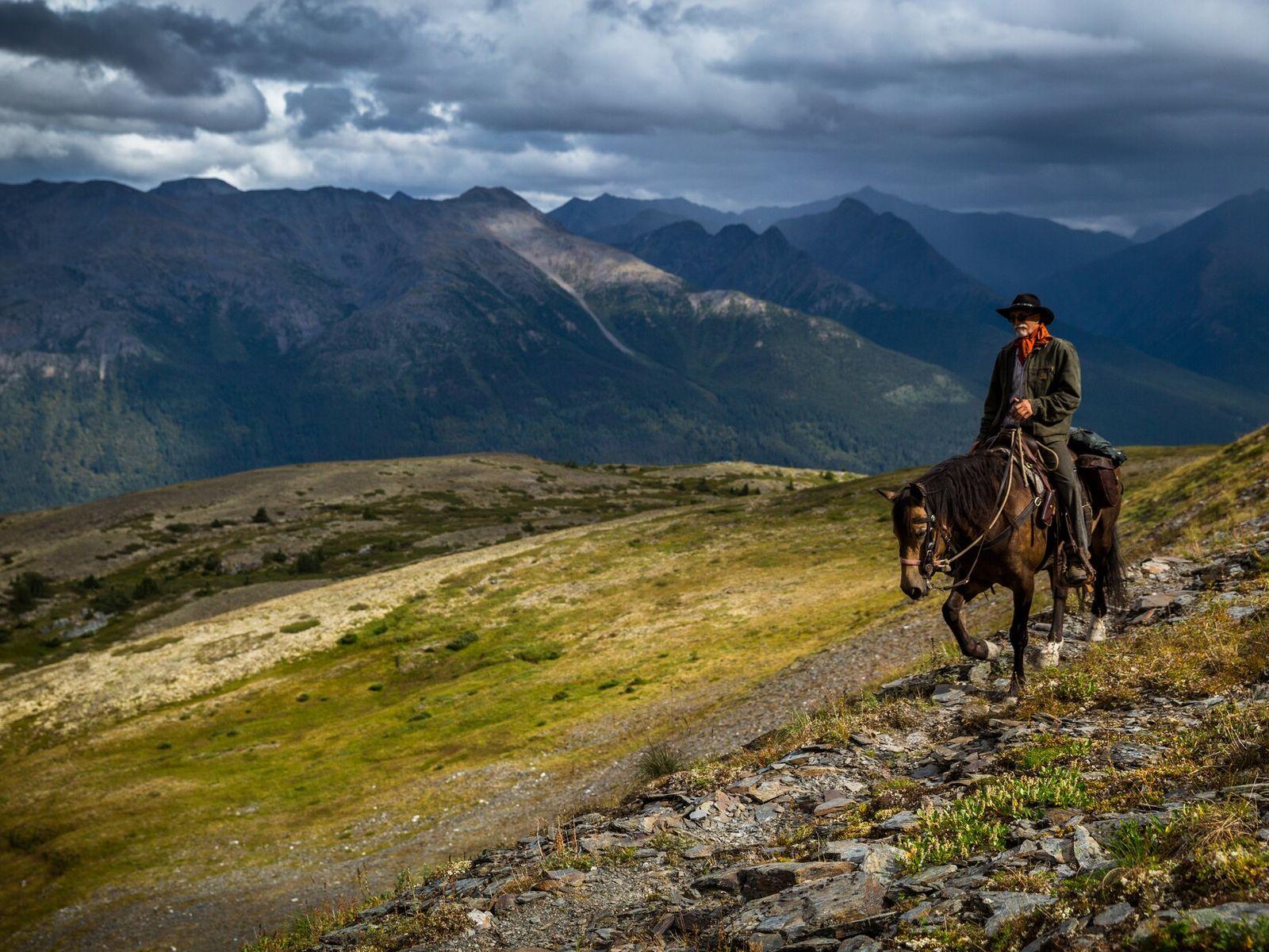 Wälder, Berge, Seen und Flüsse, Wasserfälle, heiße Quellen und Sumpfgebiete: Muskwa-Kechika ist eines der größten Wildnisgebiete Nordamerikas.