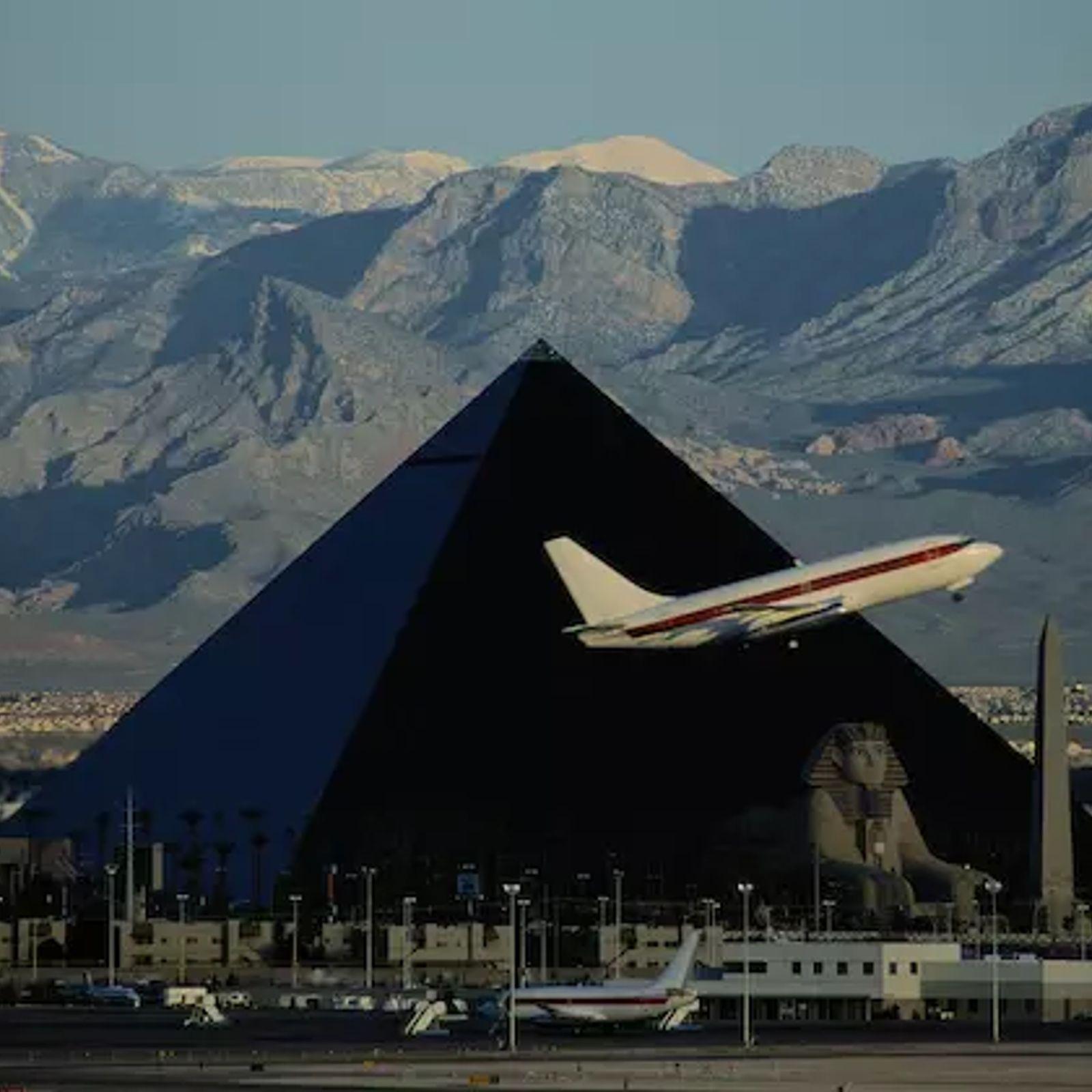 Die Große Pyramide von Nevada