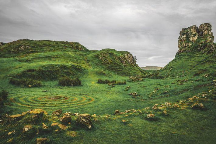 Skyes Fairy Glen, Schottland