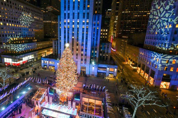 Weihnachtsbaum Rockefeller Center
