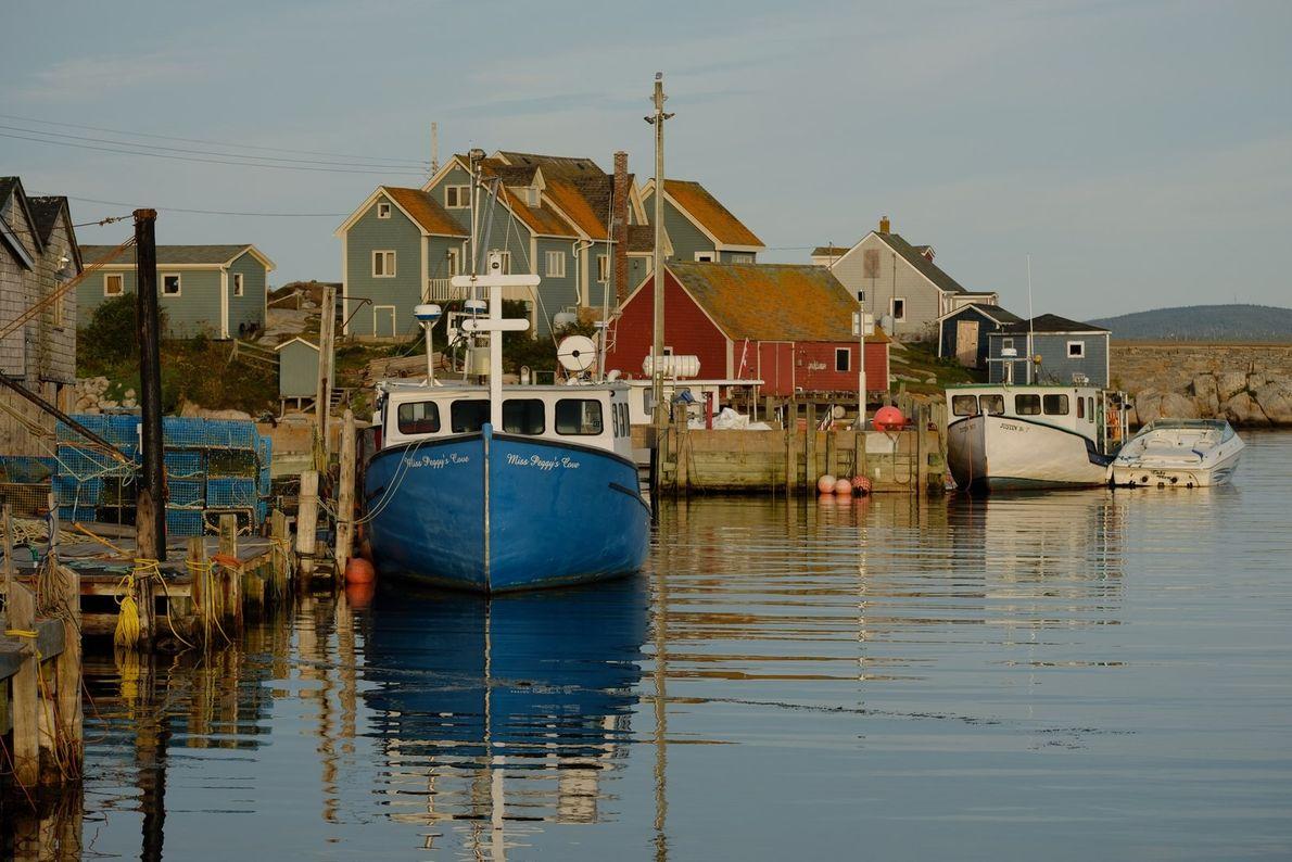 Das idyllische Fischerdorf Peggy's Cove zählt zu den besterhaltenen Hummerfischerdörfern in ganz Nova Scotia.