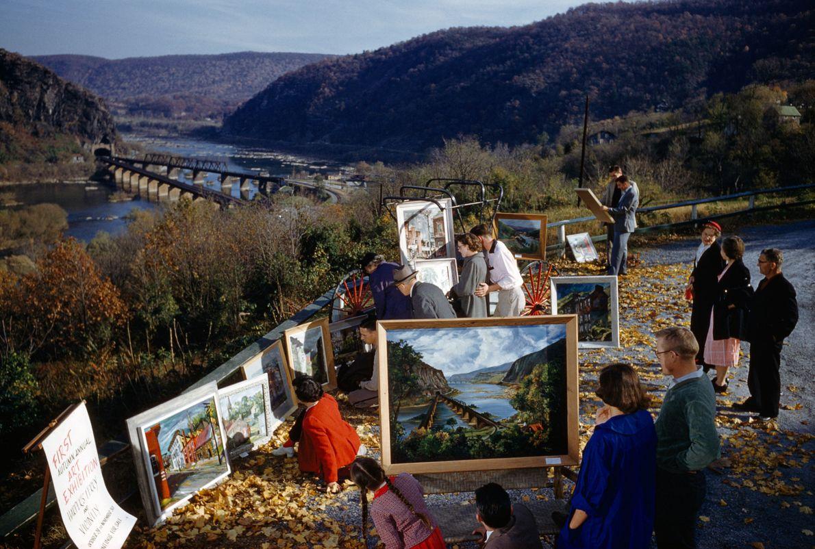 West Virginia, United States: 1957