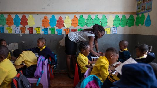 In Johannesburg kämpft eine Lehrerin für das Recht von Kindern auf Bildung