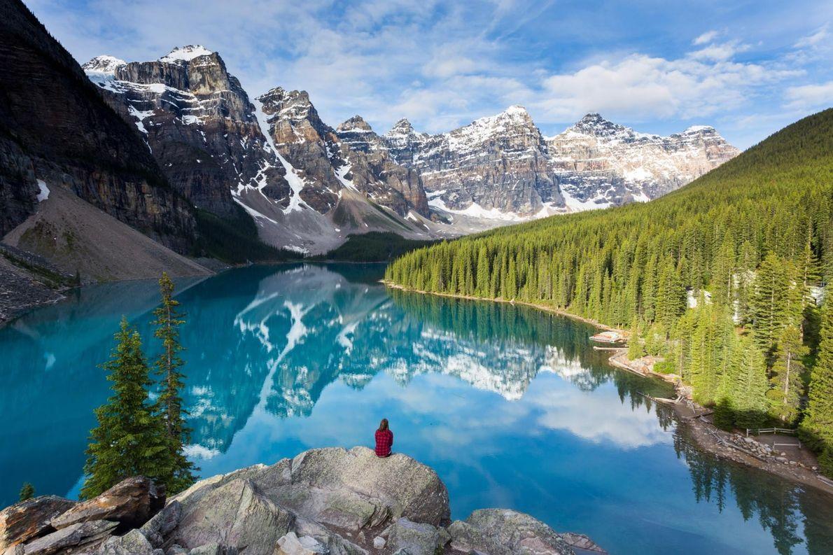 Moränensee, Kanada