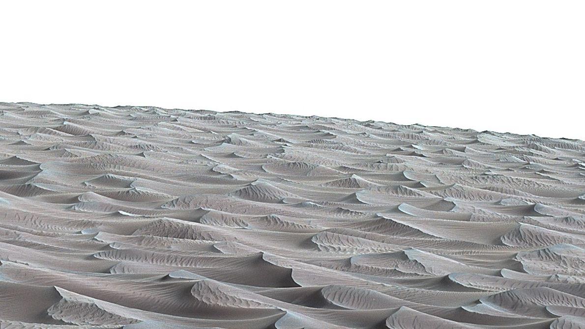 Teil der Bagnold-Dünen