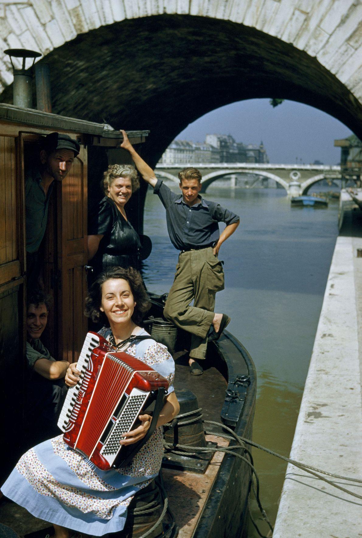 Paris, France: 1952