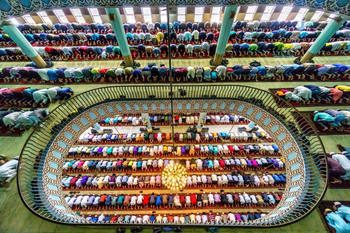 Baitul-Mokarram-Moschee in Dhaka, Bangladesch