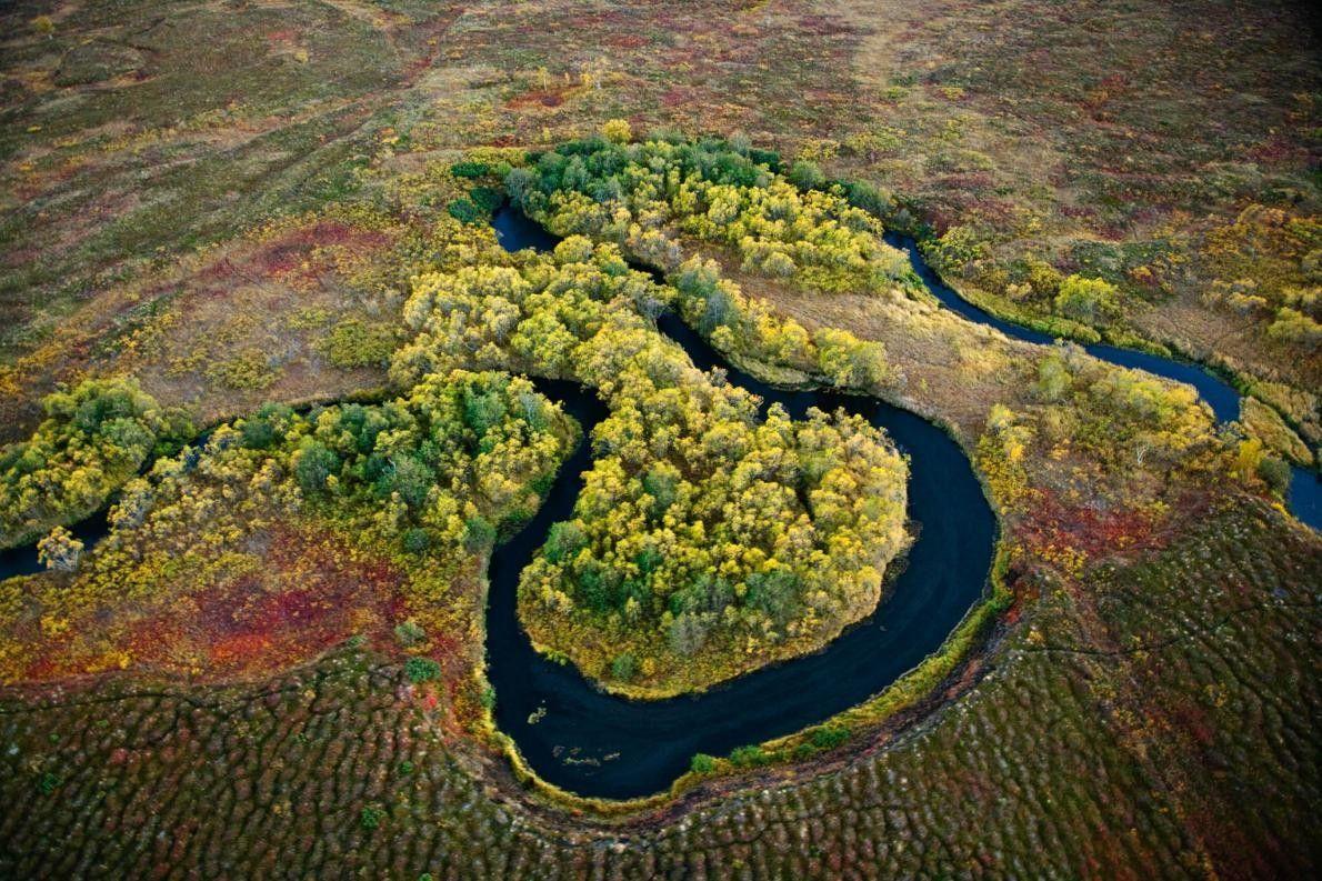 Flüsse des Kronotsky-Nationalparks in Russland