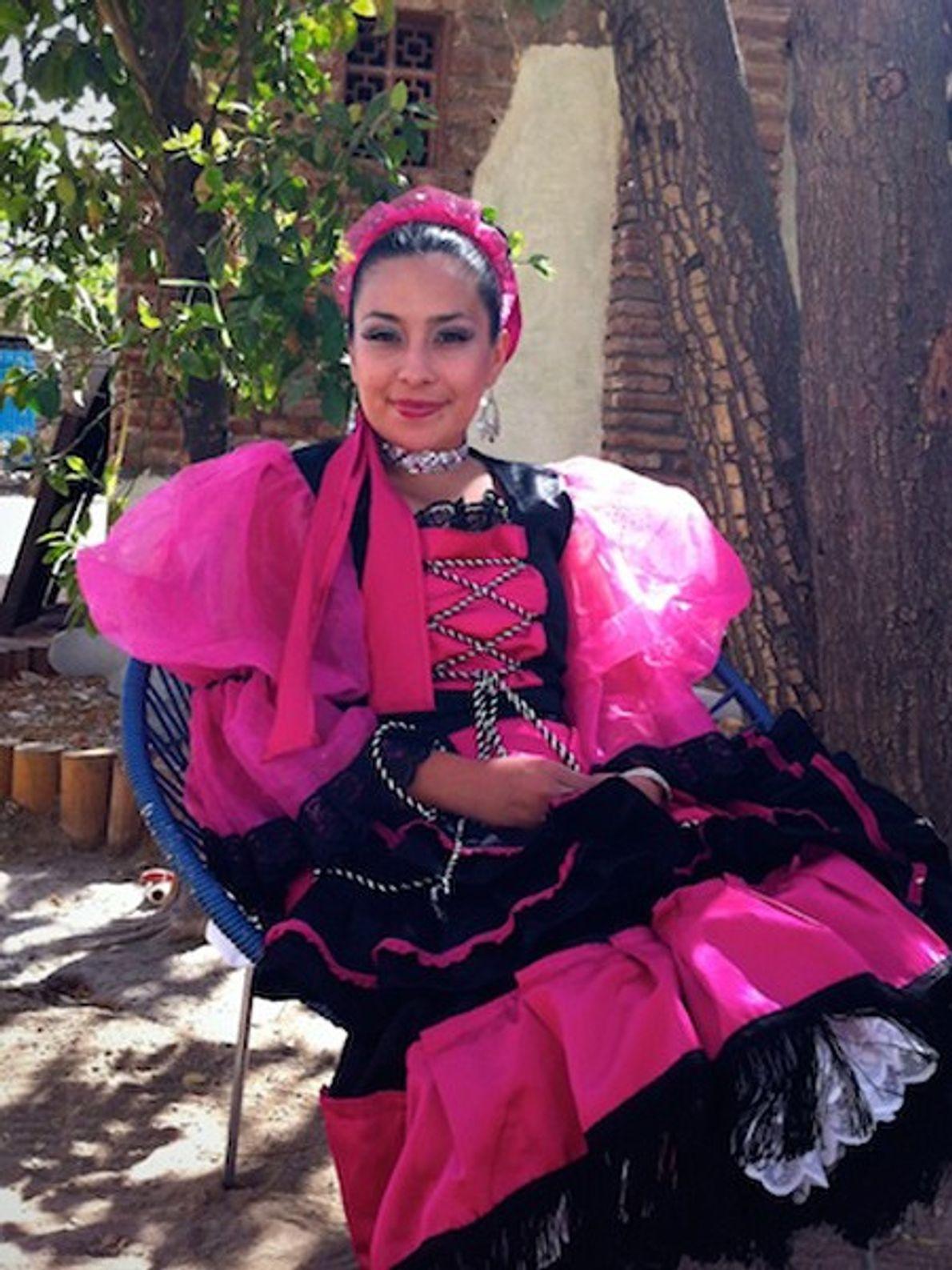 Tänzerin, Mexiko