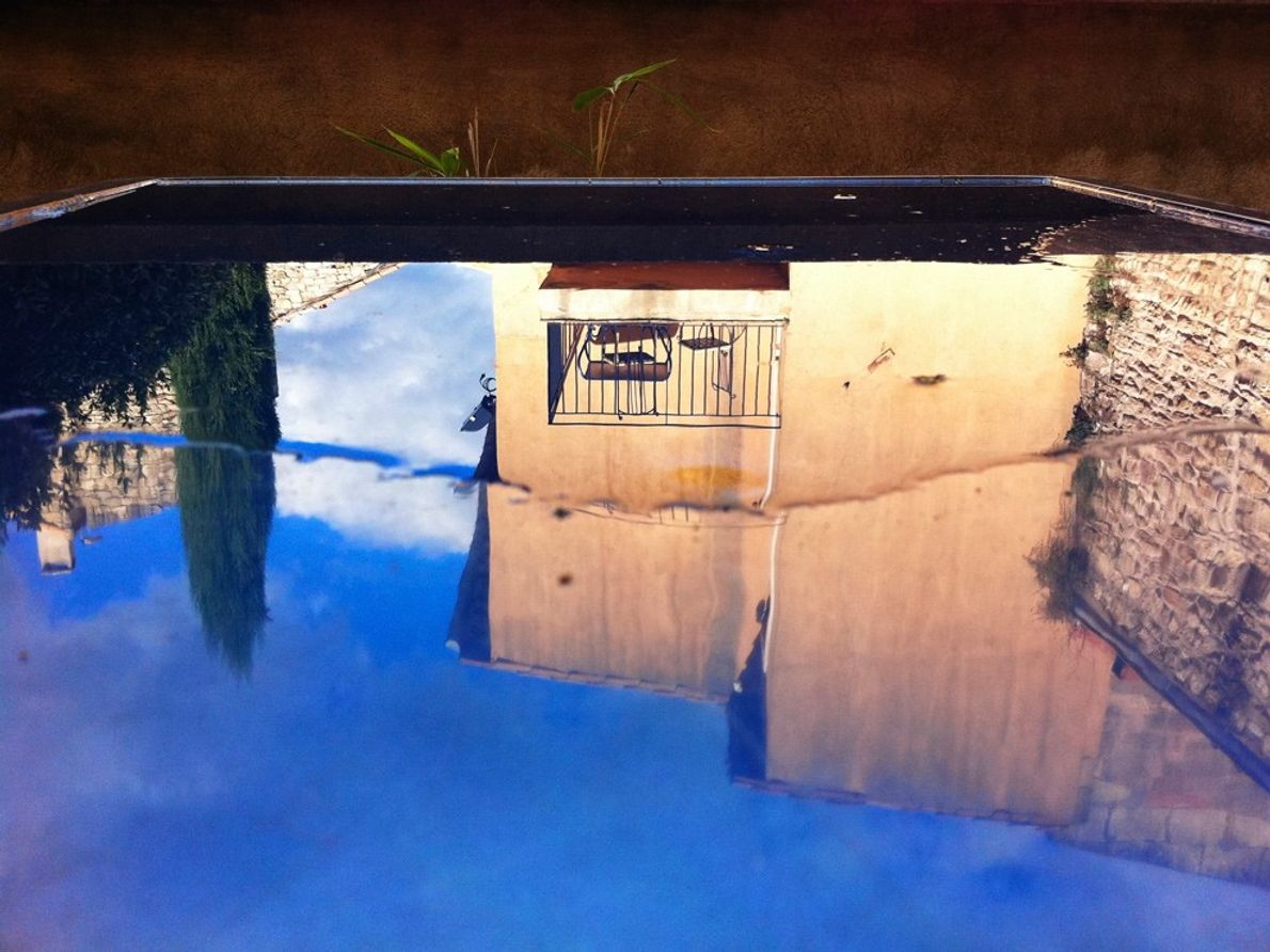 Spiegelung, Provence