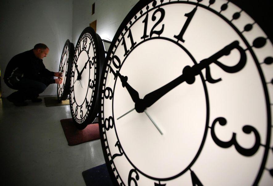 Politischer Konflikt aus den 90ern ließ europäische Uhren nachgehen