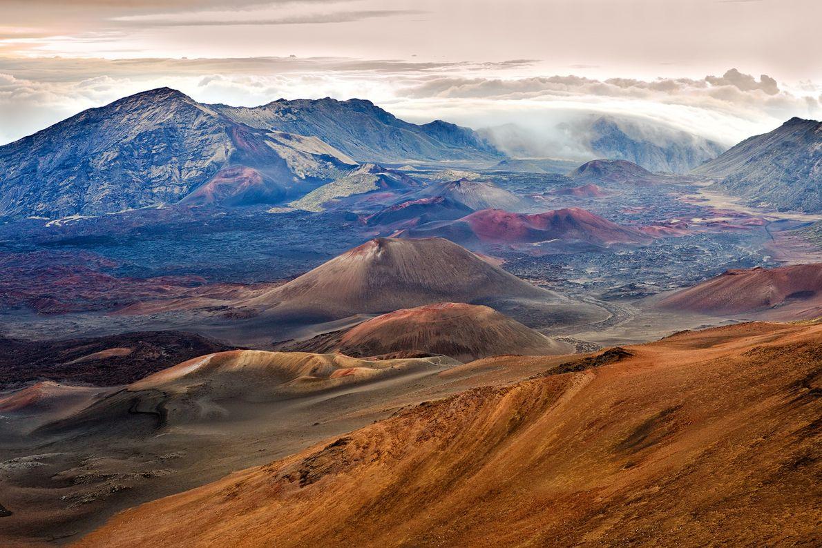 Macht euch die Mühe, den Sonnenaufgang vom Haleakala auf Maui Nui zu betrachten