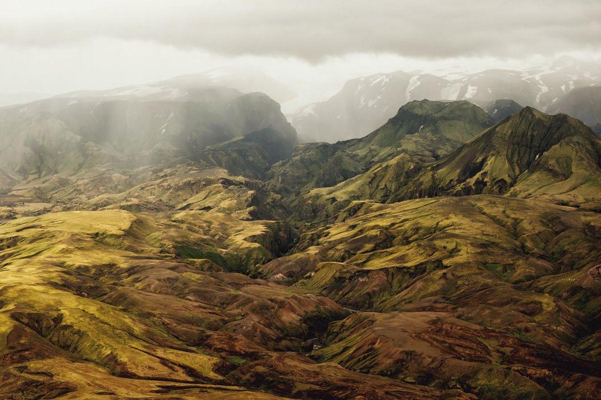 Þórsmörk-Highlands auf Island