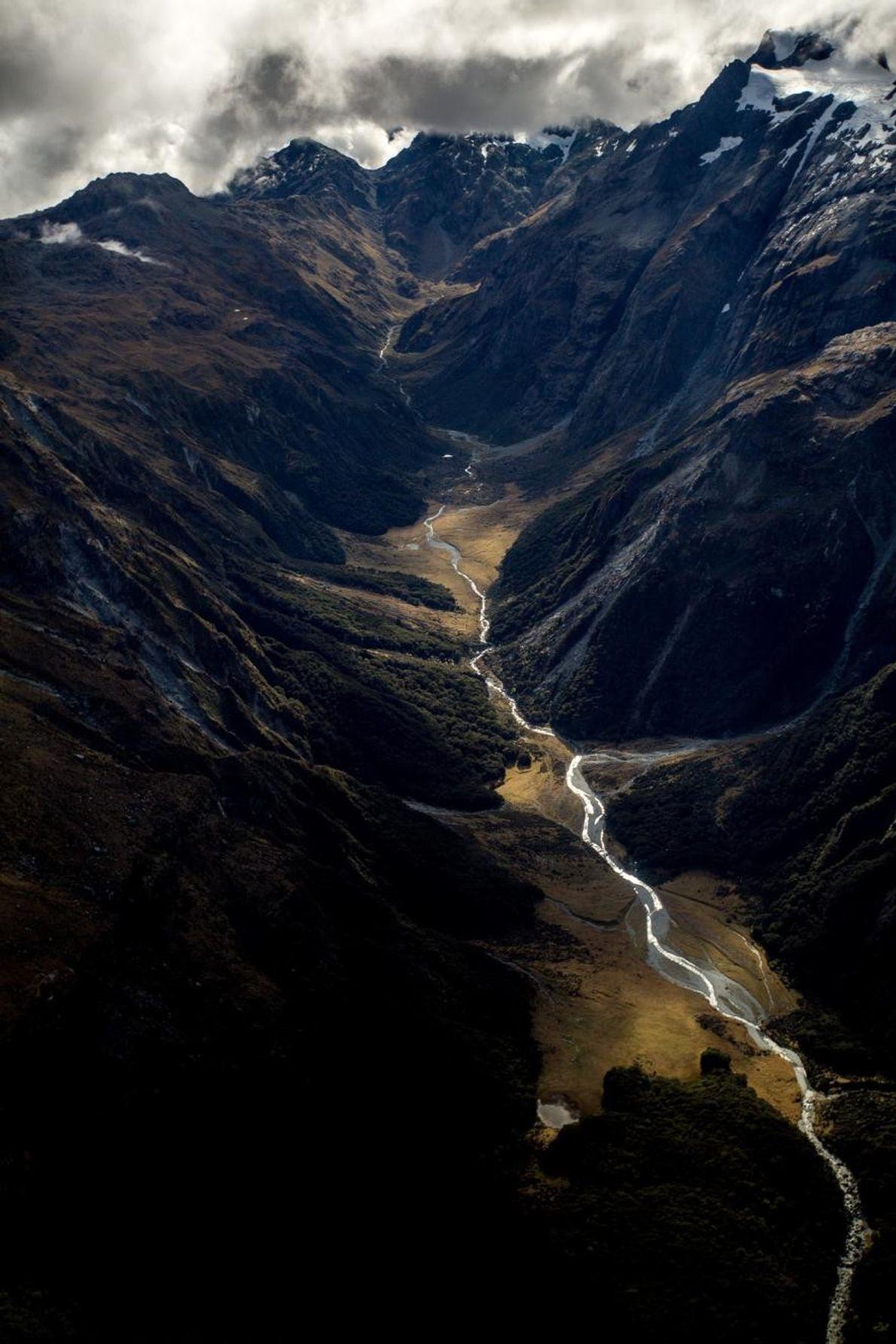 Landschaft Neuseelands