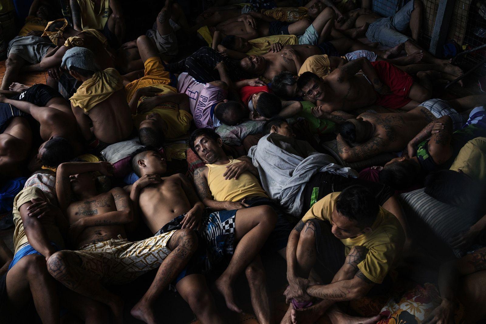 Im überfüllten städtischen Gefängnis von Quezon sind 2.072 von 3.036 Insassen aufgrund von Drogendelikten inhaftiert.