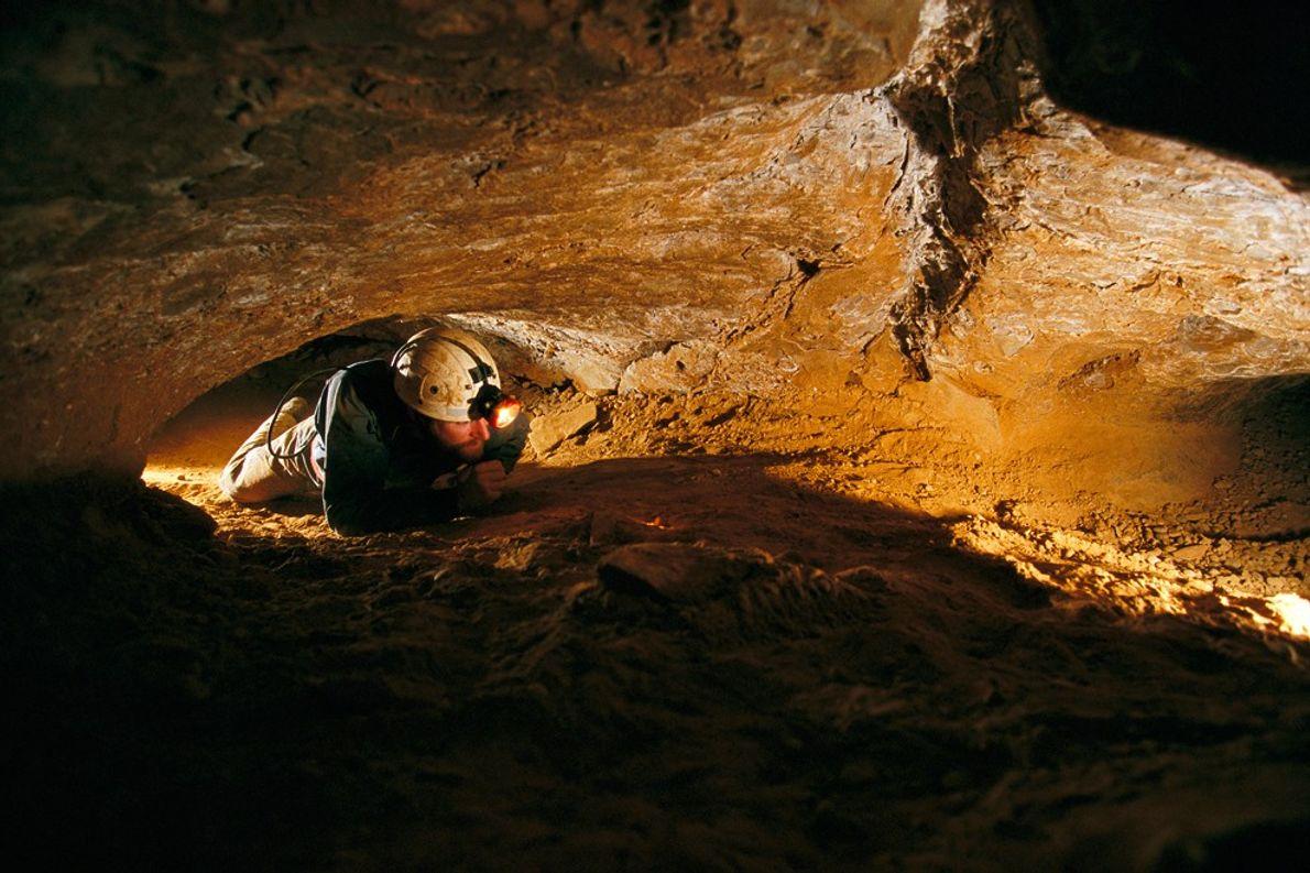 Die Mammut-Höhle ist mit über 580 kartierten Kilometern die weitläufigste bekannte Höhle der Welt. Trotzdem gibt ...