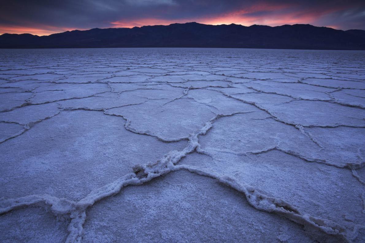 Salzwüste im Death-Valley-Nationalpark