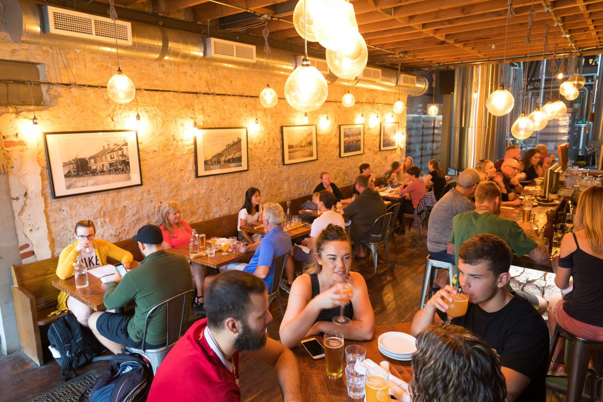 Die Elora Brewing Company überzeugt nicht nur mit geschichtsträchtigem Flair, sondern auch mit authentischem Craft-Bier. Dabei …