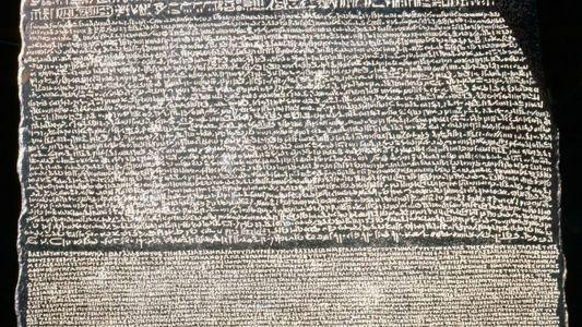 Stein von Rosette – Schlüssel zum Alten Ägypten