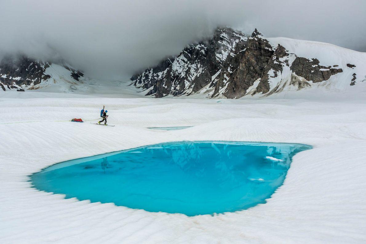 Gletscherpool
