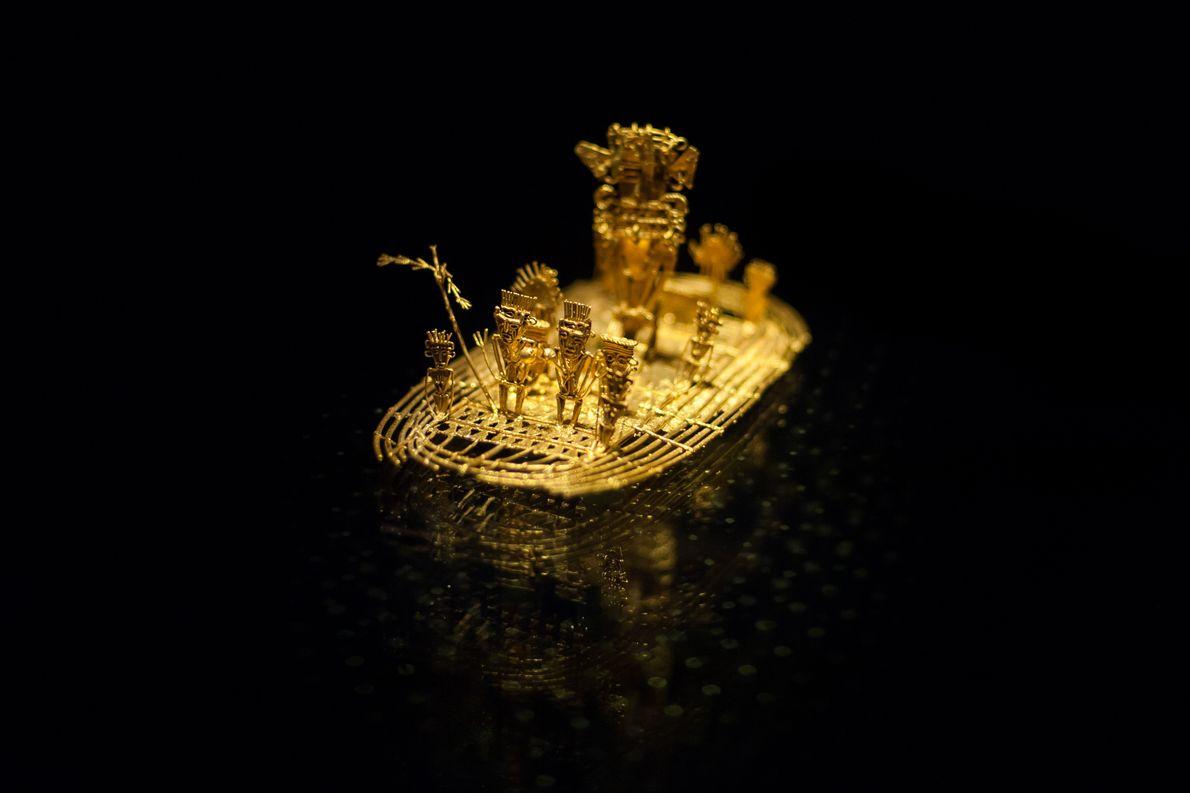 Floß aus Gold