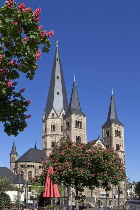 Bonner Münster: Die katholische Kirche wurde im 11. Jahrhundert erbaut. Der rund 900 Jahre alte Kreuzgang ...