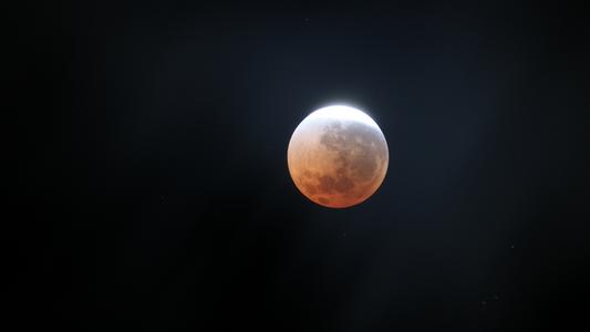 Blutmond und Mars: Zwei Himmelsspektakel am Freitag