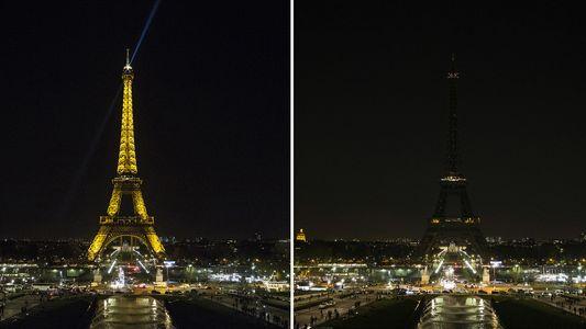 Eine Stunde Dunkelheit: Die Earth Hour in Bildern