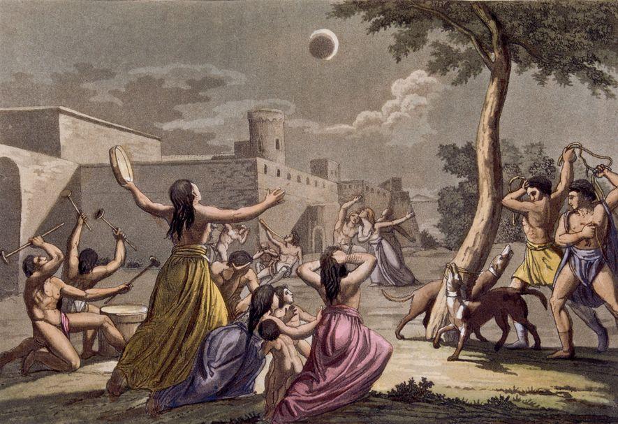 Mondfinsternis-Mythen aus aller Welt