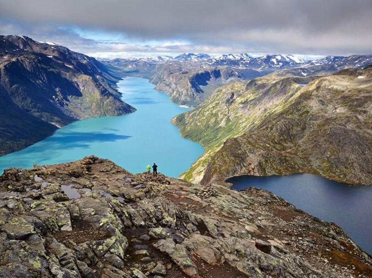 Besseggen Jotunheimen-Nationalpark, Norwegen
