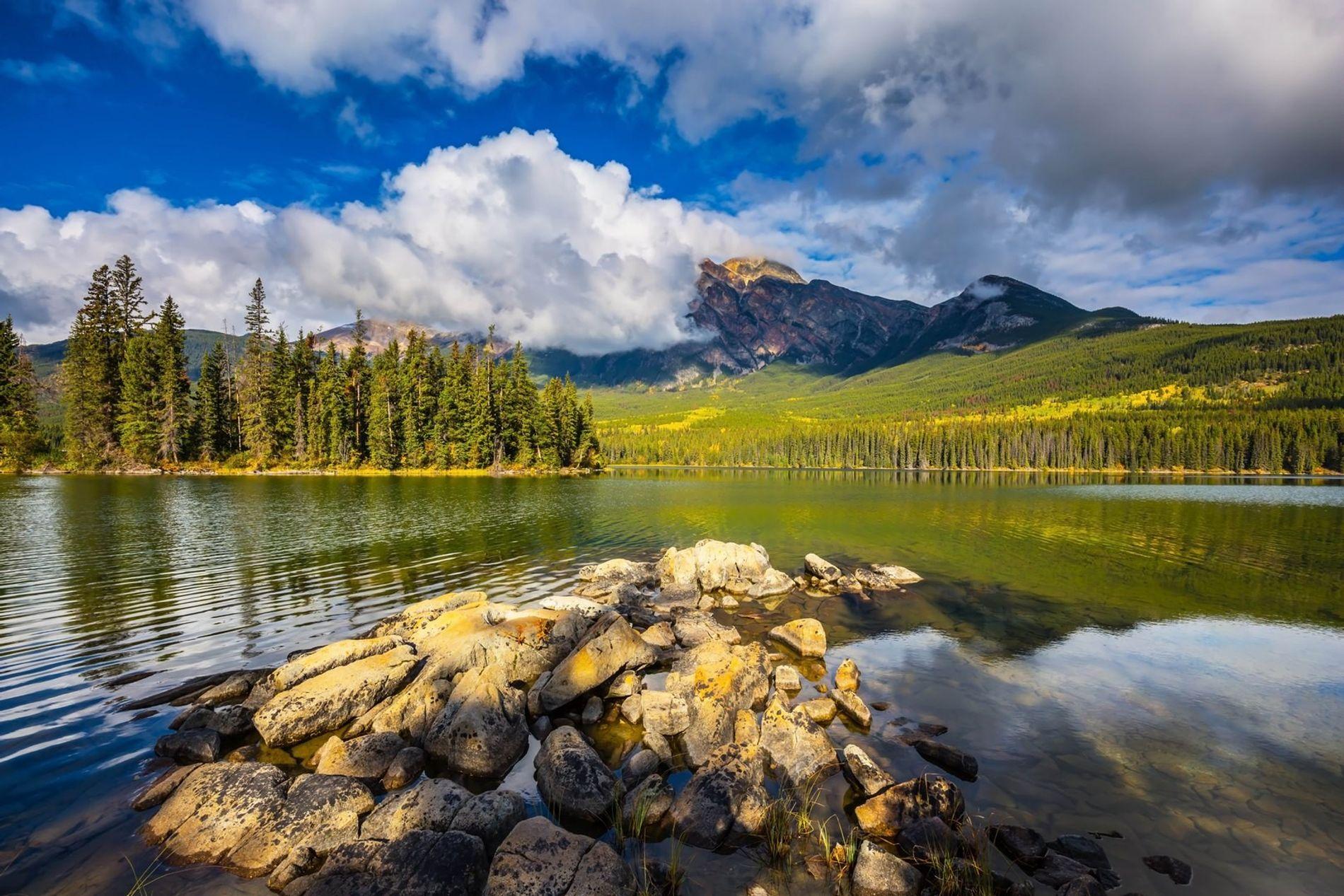 Der Jasper-Nationalpark in Alberta, Kanada.