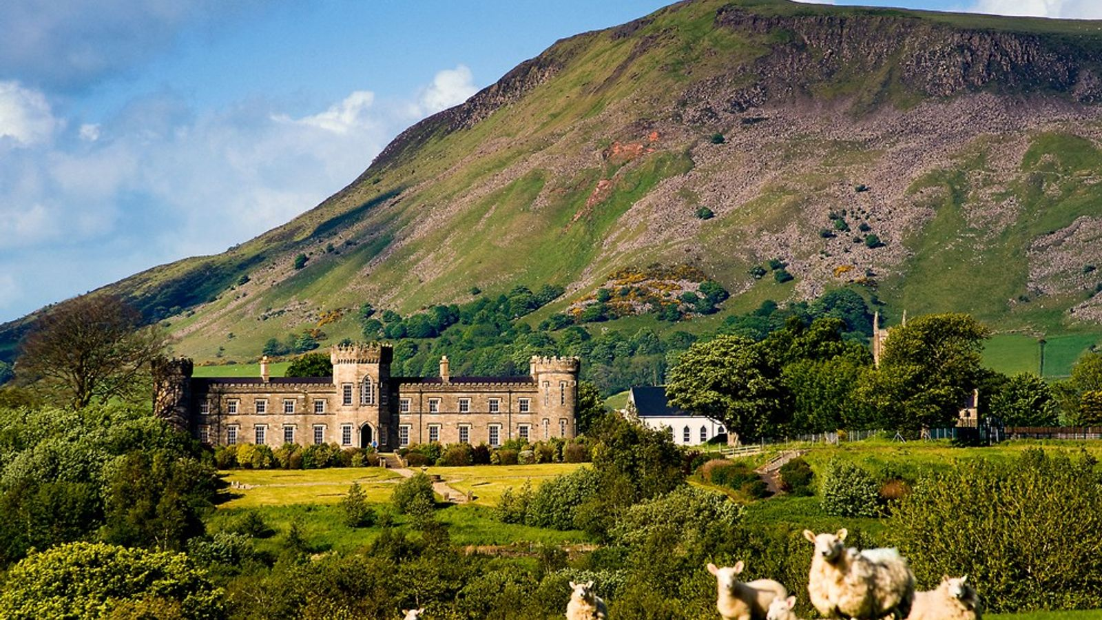 Dungiven Castle, County Derry, Northern Ireland