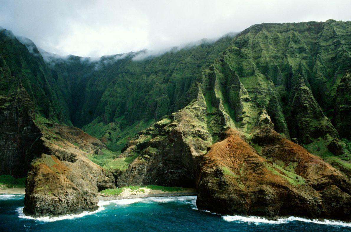 Na-Pali-Küste in Hawaii