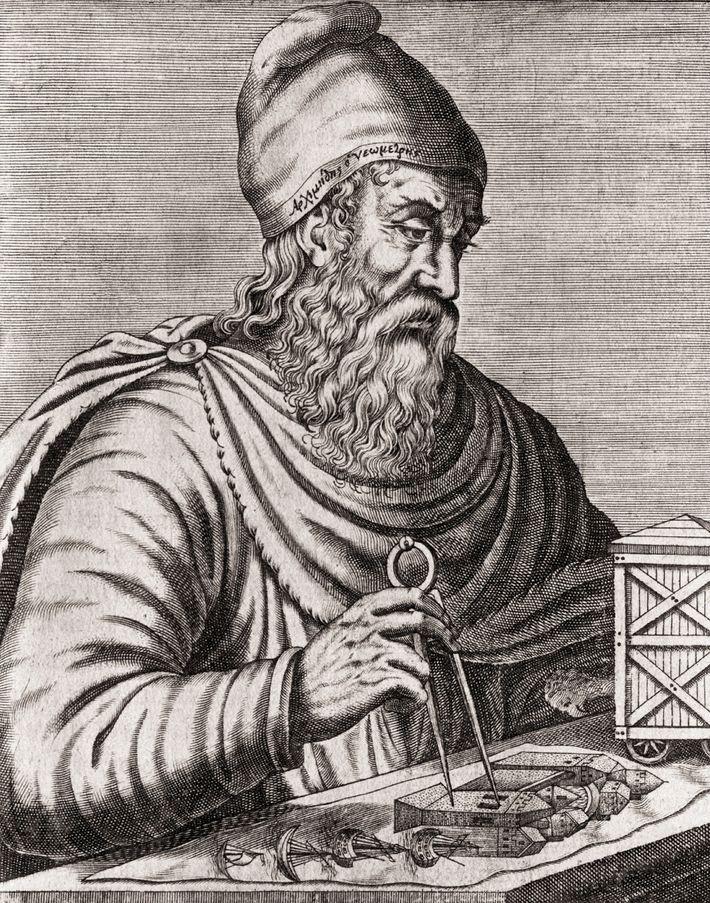 Archimedes (ca. 287 v. Chr. bis 212 v. Chr.) war einer der größten Wissenschaftler der Geschichte. ...