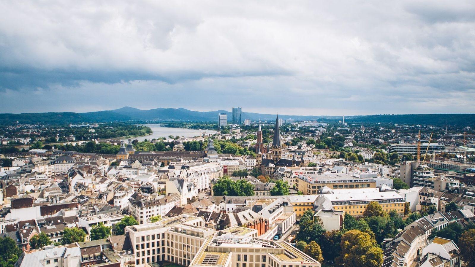 Blick über Bonn