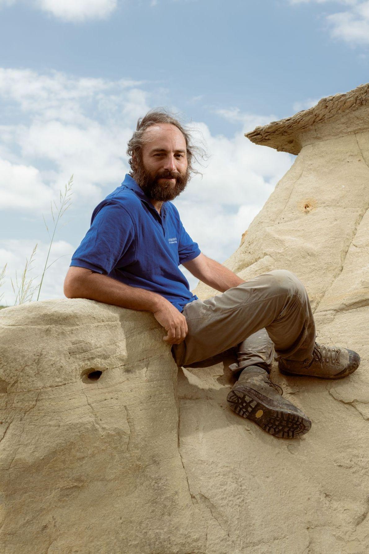 Paläontologe Philip Havlik