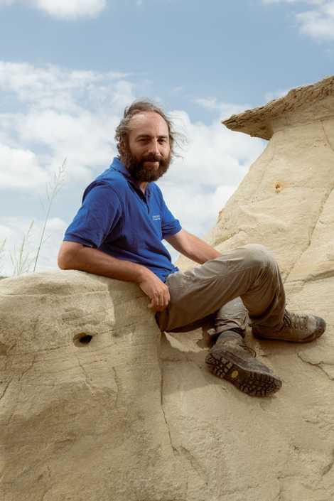 Projektleiter Philipe Havlik beschäftigt sich seit über 20 Jahren mit der Wirbeltierpaläontologie.