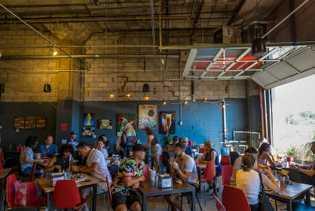 Die Art-is-in-Bakery ist eine hippe Bäckerei mit Café.