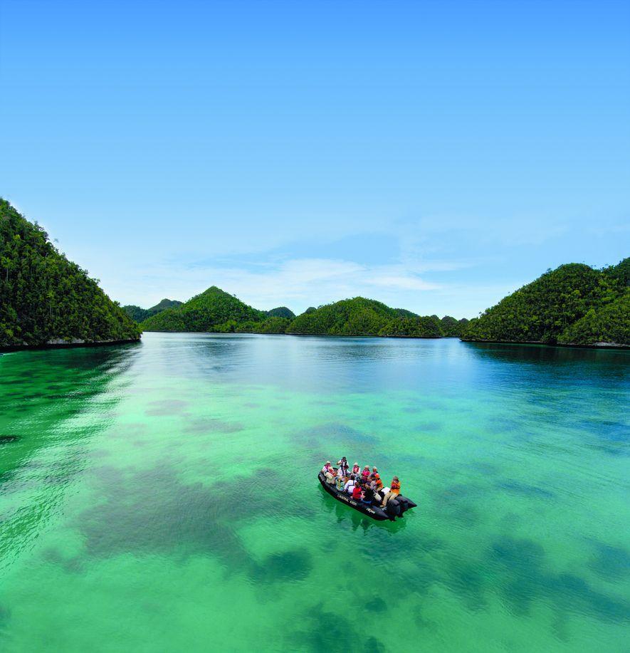 Eine tropische Expedition auf Raja Rampat