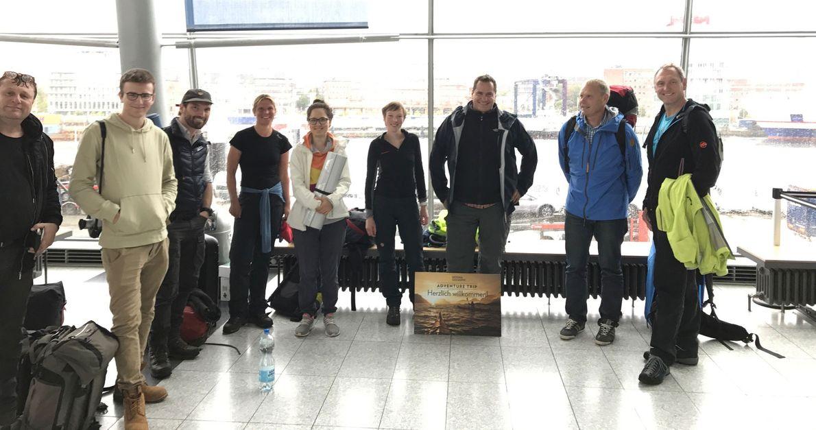 Teilnehmer des Adventure Trips