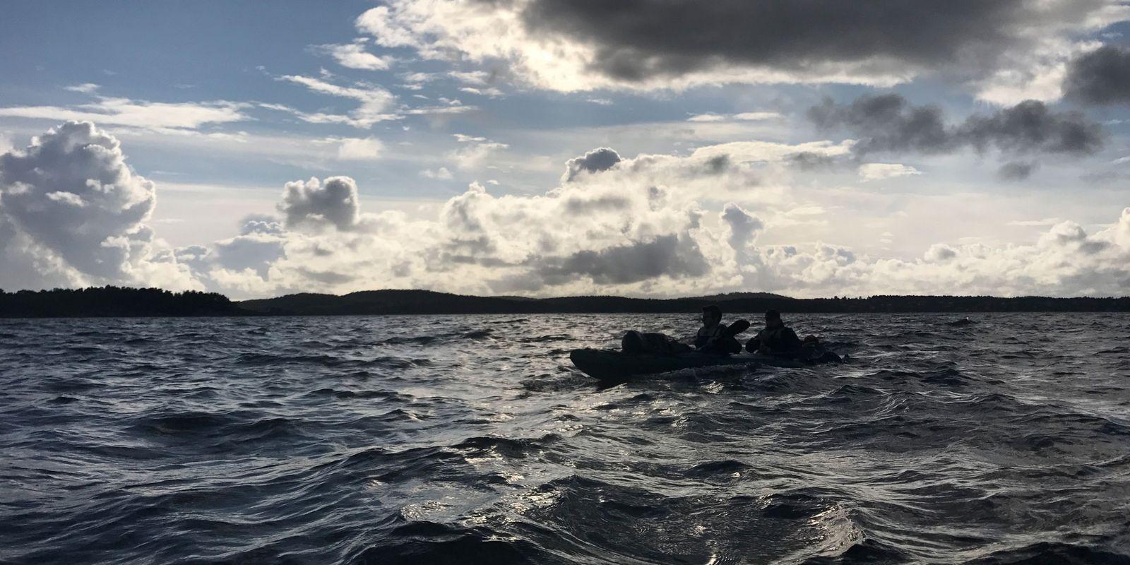 Adventure Trip, Tag 2: Erste Tour auf dem Oslofjord