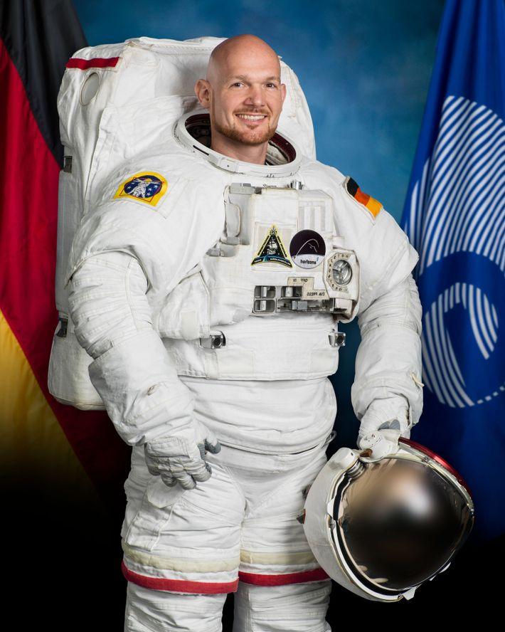 Alexander Gerst vor seiner zweiten ISS-Mission: Bereits 2014 war der deutsche Astronaut 166 Tage als Bordingenieur ...