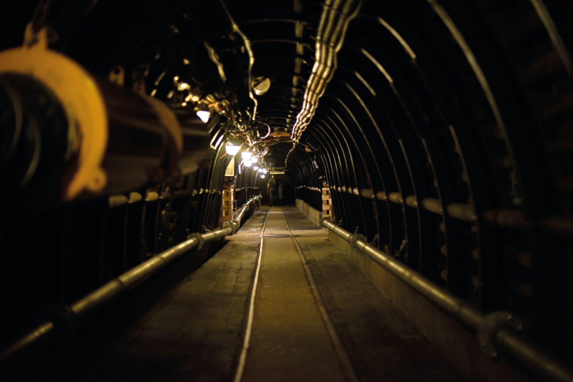 Strecke im Anschauungsbergwerk des Deutschen Bergbau-Museums