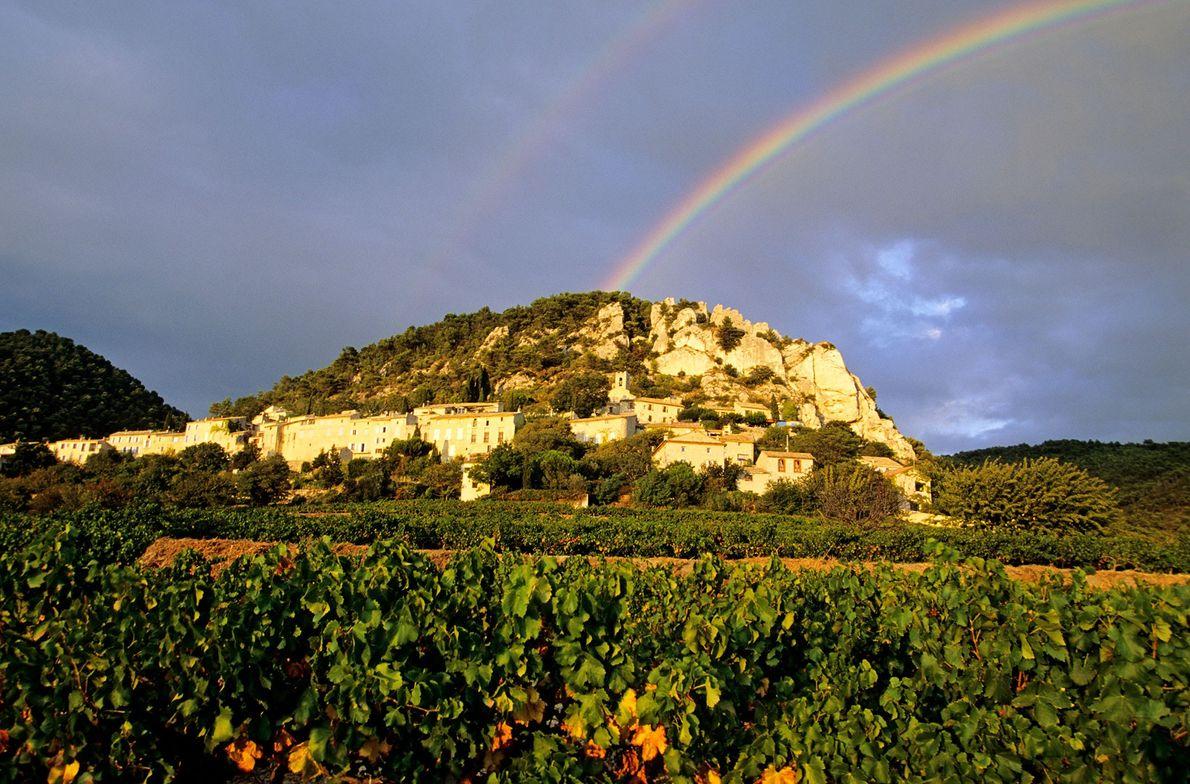 Foto von Les Dentelles de Montmirail, Frankreich
