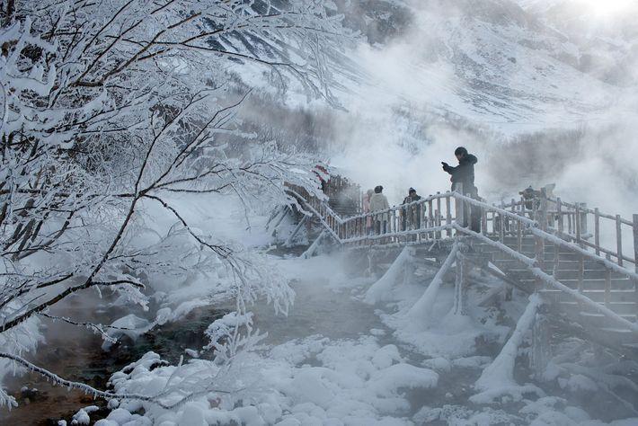 Baekdudaegan-Wanderweg in Südkorea